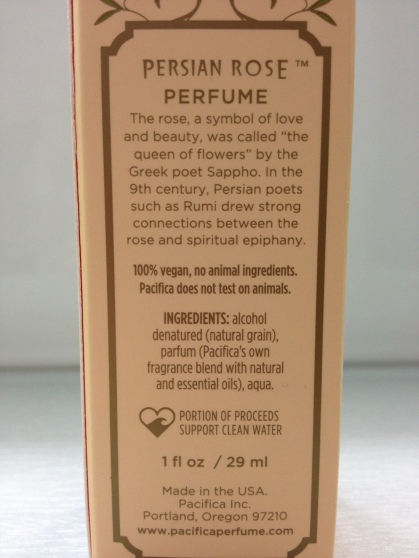 parfum ingredients