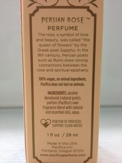 parfum ingredients