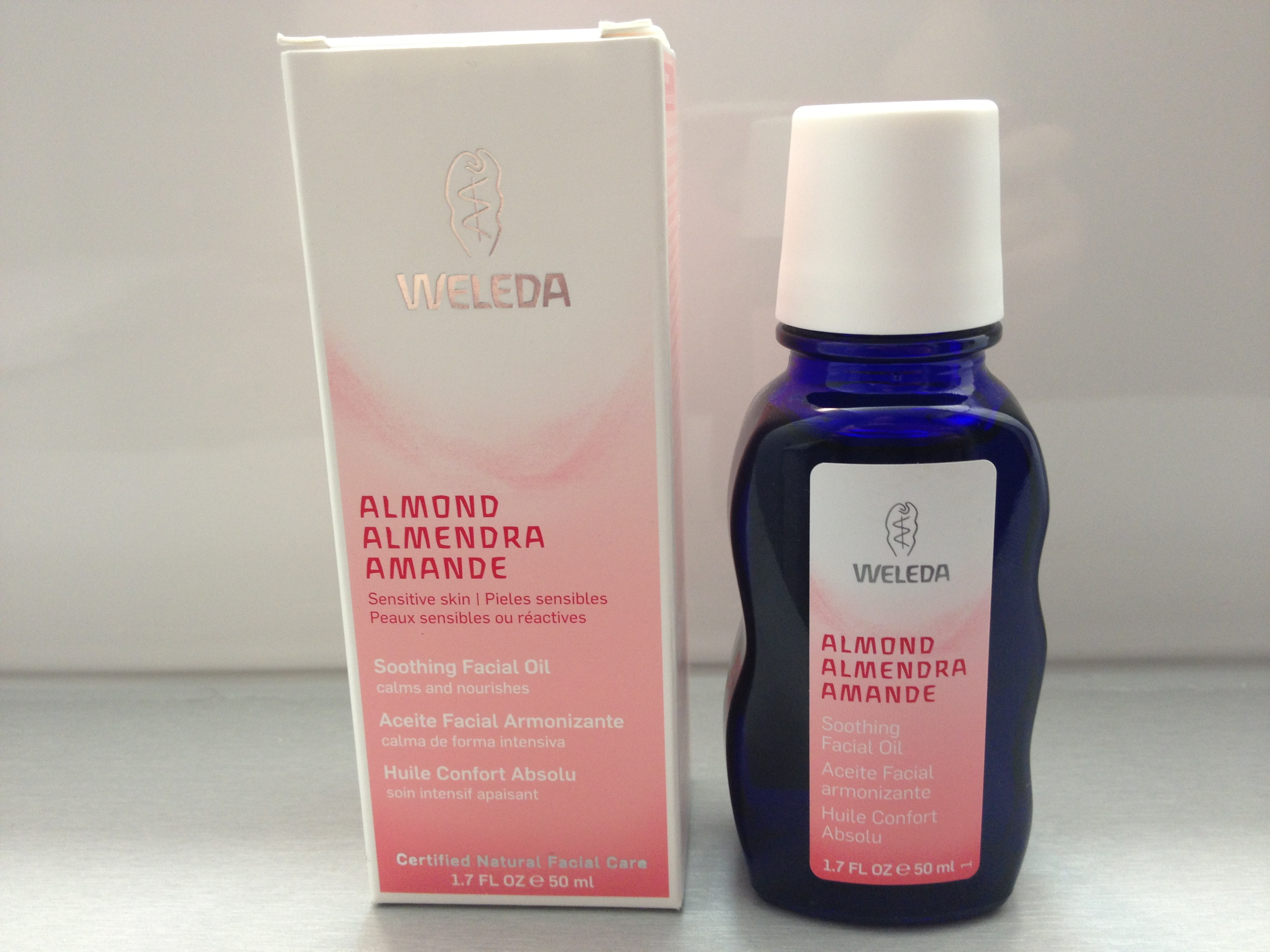 weleda almond soothing facial oil review